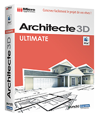 Architecte 3d mac ultimate logiciel d 39 architecture 3d for Architecte 3d vue 3d